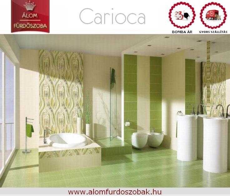 ♥ CARIOCA kollekció ♥ Árkategória: Bomba jó ☺Gyors szállítás☺ Bemutatótermünkben megtekinthető. További info, akciós árak itt:  http://alomfurdoszobak.hu/hu/281-paradyz-carioca-verde-furdoszoba