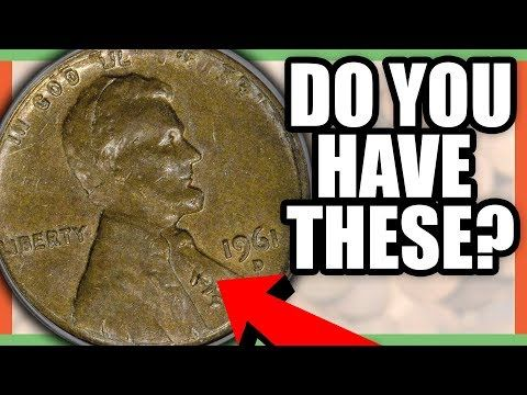 10 SUPER RARE PENNIES WORTH MONEY - LINCOLN PENNY COINS TO LOOK FOR