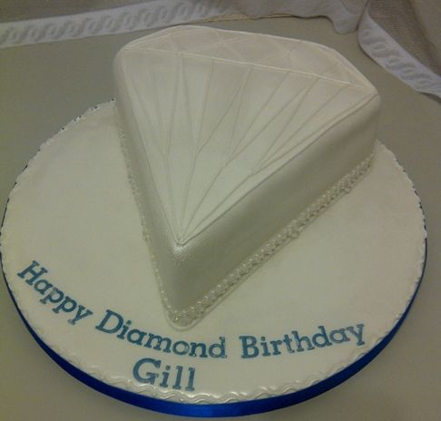 Diamond Shaped Cake Yahoo Search Results Cake In 2019