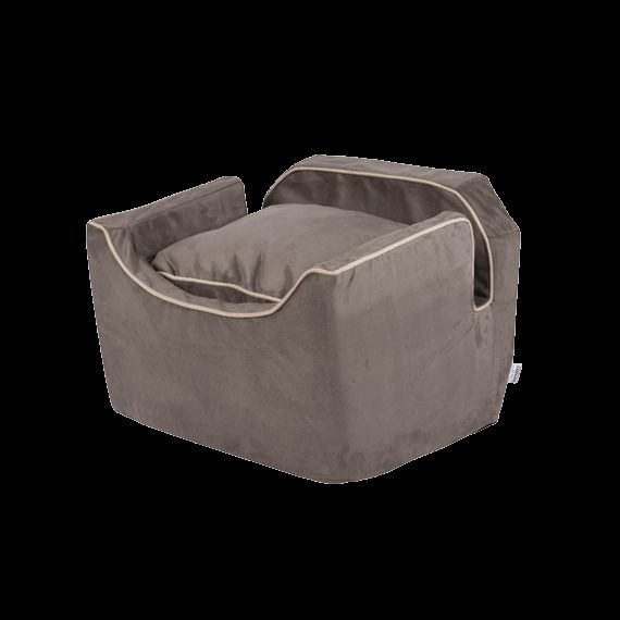 Snoozer Luxury Lookout 1 Dog Car Seat With Microsuede