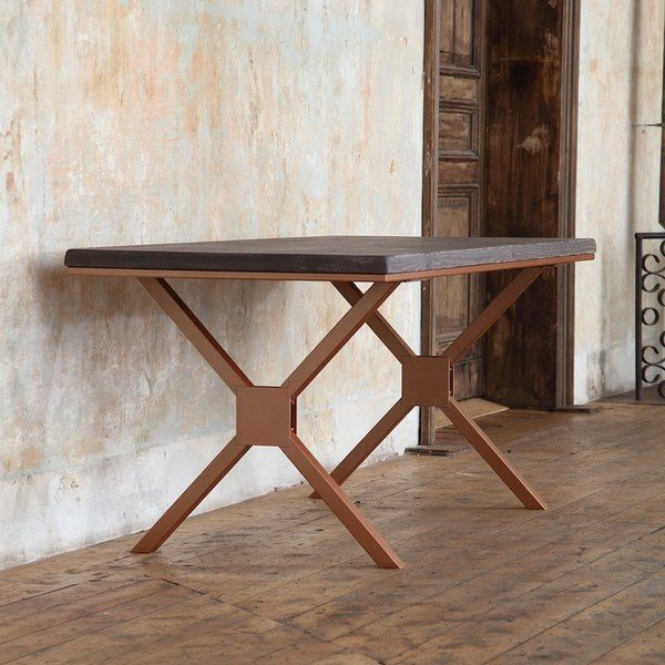 Kew Copper Solid Wood Dining Table Solid Wood Dining Table