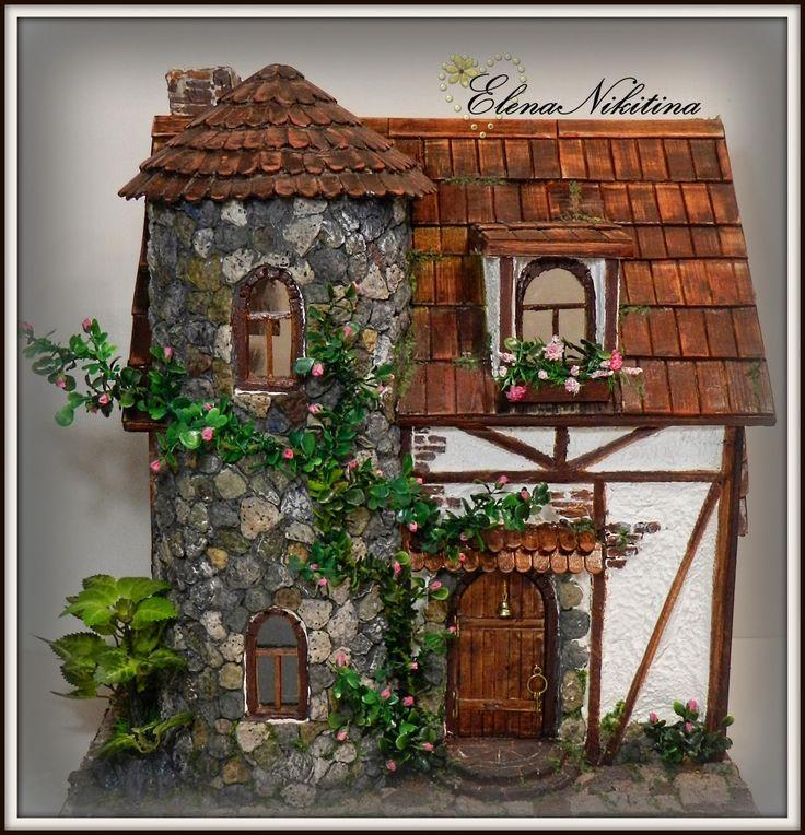HandMade, Relief,  3D, Craft, Minyature home, Hobby,