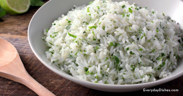 Chipotle lime rice recipe – Everyday Dishes & DIY