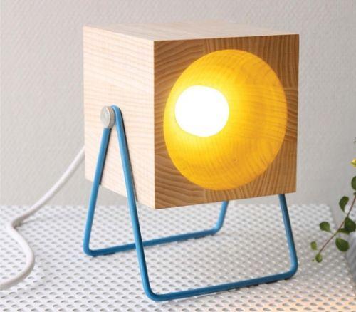 #Colourful lamp.