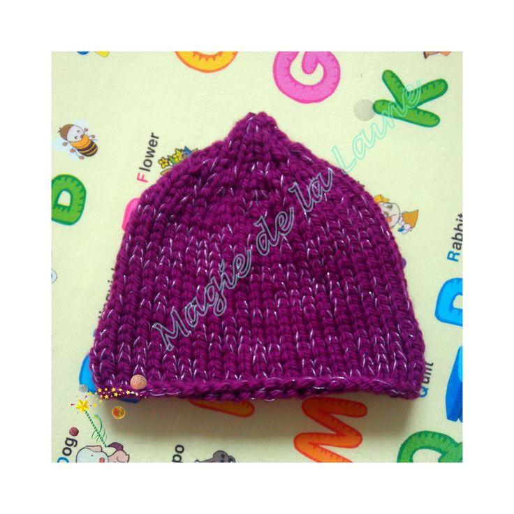 Bonnet dôme express tricoté avec la laine chunky P Express de Phildar et le fil lurex Bride de Cheval Blanc. Un bonnet chaud. Facile et rapid à réaliser : une demie journée suffit! Kit à tricoter: http://www.magiedelalaine.com/kits-bonnets-et-chapeaux/433-kit-a-tricoter-bonnet-dome-express.html