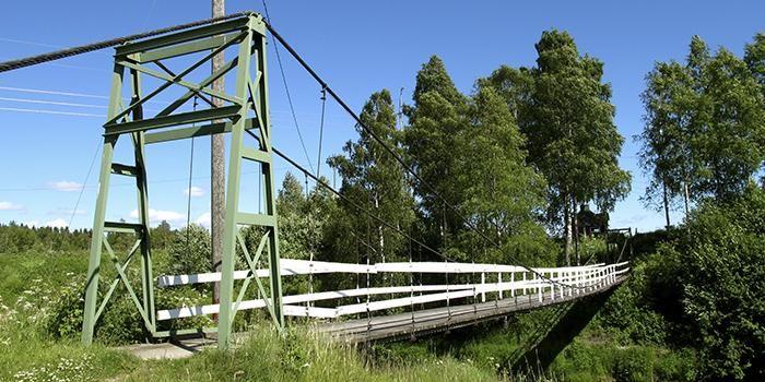 Ohriluoman silta Karijoki, Finland.