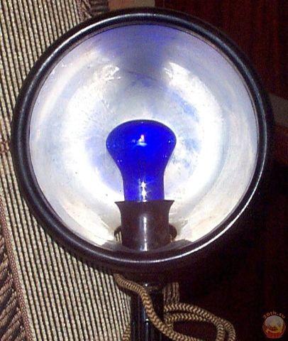 Sinine lamp ravimiseks