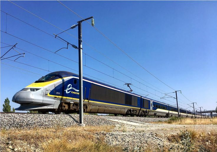 High speed Train ( TGV, Eurostar, OUIGO, Thalys) in France