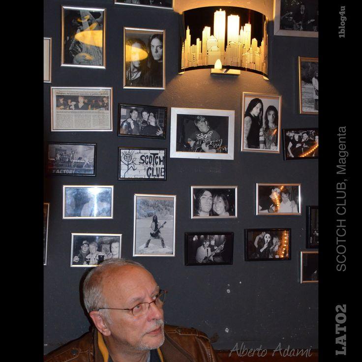 #Lato2 cover #rock band at #ScotchClub #Magenta #Milano good music, #friends , fantastic #pizza #whatelse ?  #Gabriella #Ruggieri #blogger #1blog4u  #Alberto #Adami #bass #singer (guest)  #Marco #Massicut #guitar  #Maurizio #Bonucci #keyboards  #Danilo #Carelli #drummer  #Giuliano #Bellocci #bass