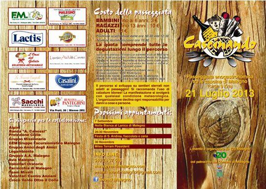 Cascinando a Malegno http://www.panesalamina.com/2013/14097-cascinando-2013-a-malegno.html