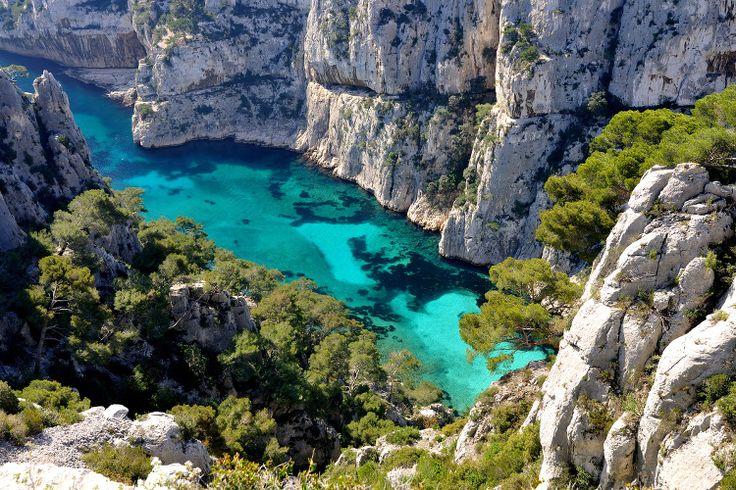 Les calanques de Marseille : 20 sites français à voir une fois danssavie - Linternaute