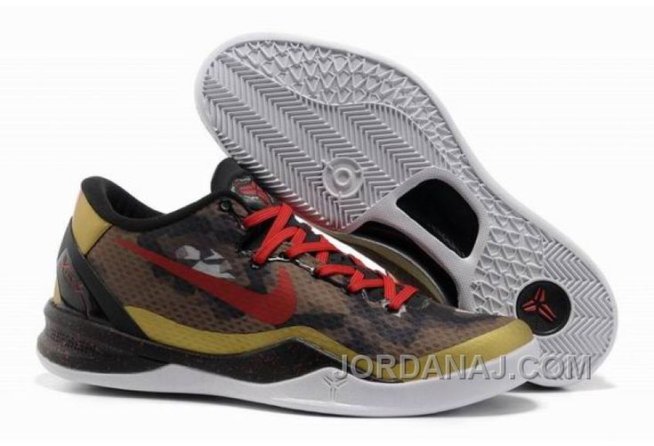Nike Kobe 8 System Basketball Shoe Snake Gold Cheap To Buy