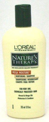 L'Oreal Nature's Therapy Mega Shampoo 12 oz. (Chemically Treated) (Case of 6) >>> This is an Amazon Affiliate link. For more information, visit image link.