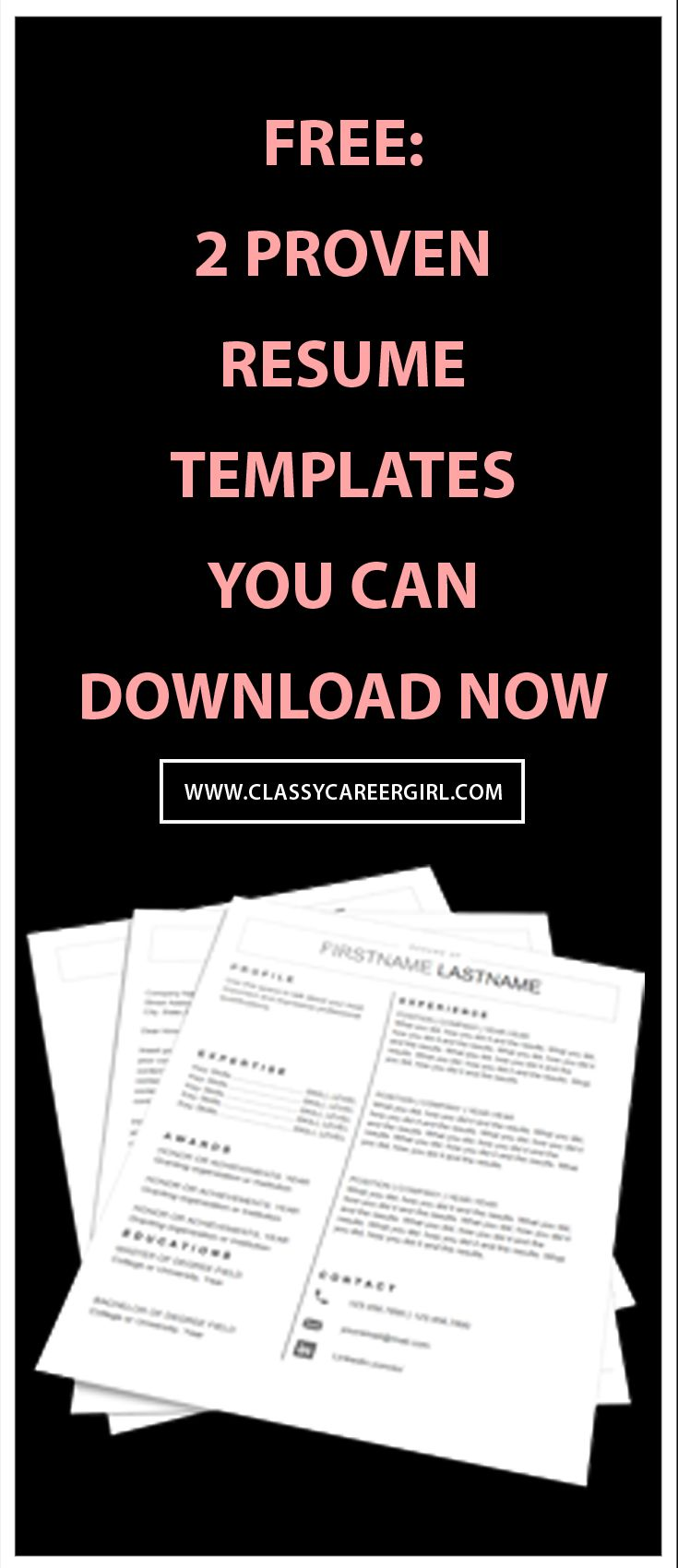 17 best ideas about resume resume template save time get your dream job simple resume templates you can populate in 20 minutes