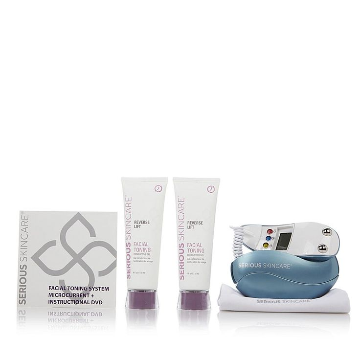 Serious Skincare by Jennifer Flavin-Stallone Serious Skincare Microcurrent EGG Smooth Operator - Blue