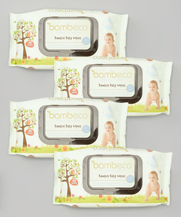 Natural, Organic, Bamboo, Baby Wipes, Packaging, Design