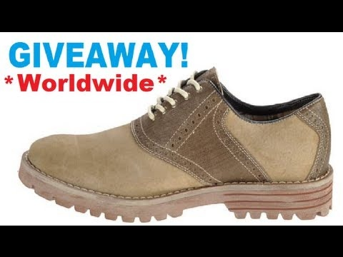 Hush Puppies Mens Shoe Giveaway (Open Worldwide!) 10 Days left!  Pin to win