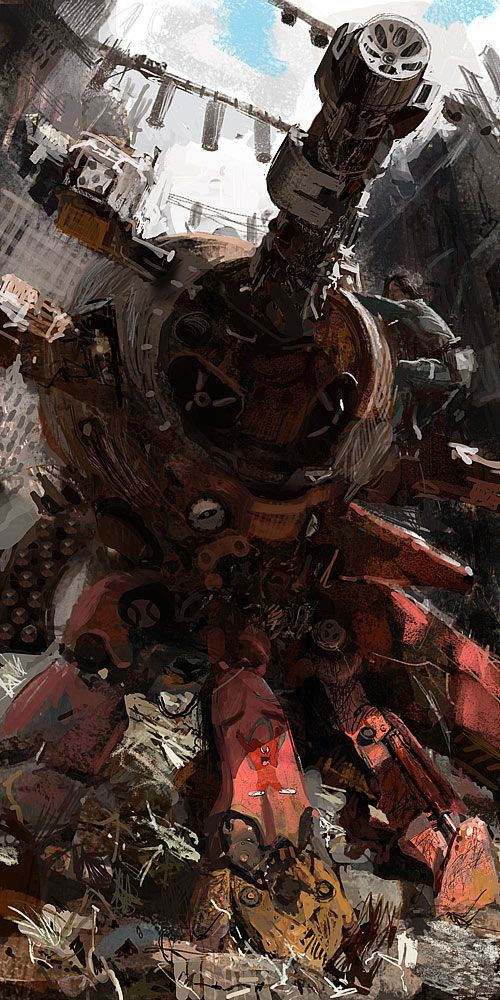 Craig Mullins See more #space #sci fi pics at www.fabuloussavers.com/wscifi.shtml