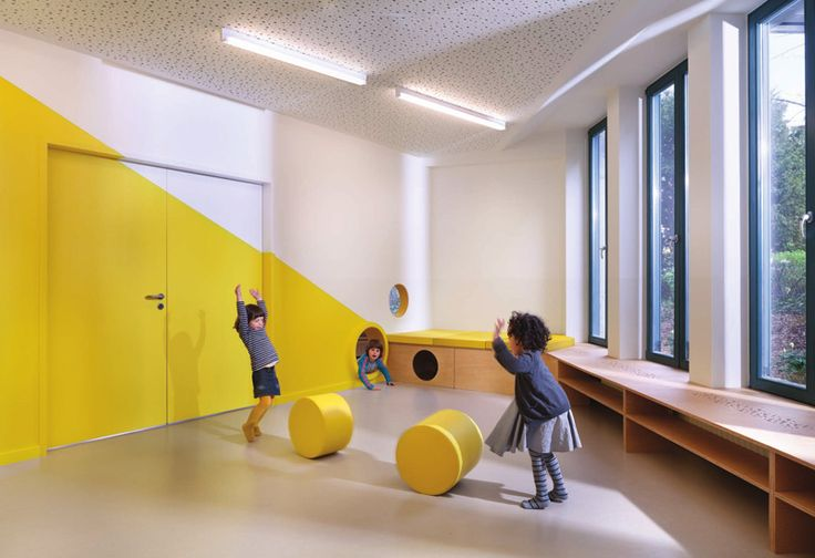 Baukind have designed a new daycare filled with fun creative touches