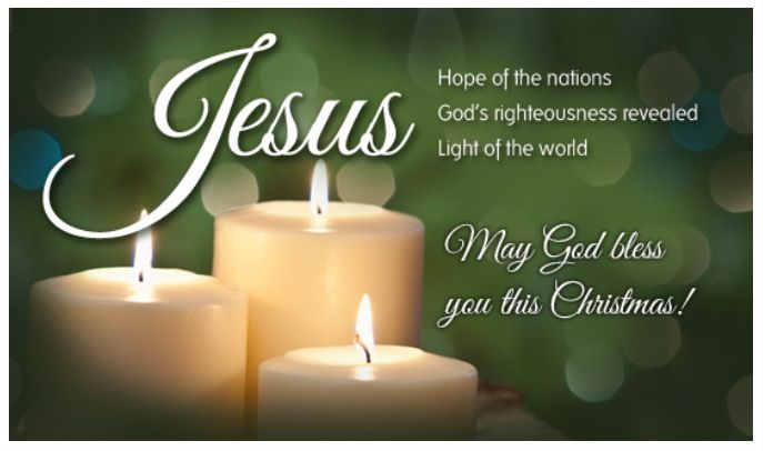 Jesus Hope of the Nations....