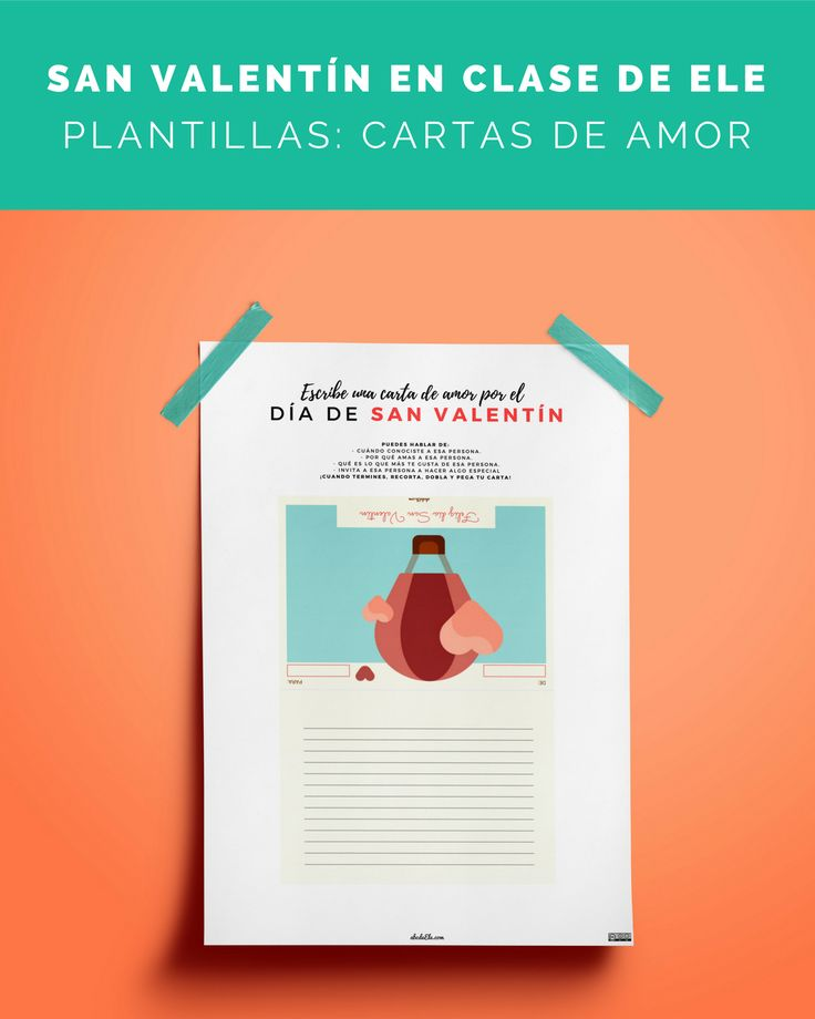 ❤️️ ¡Cartas de amor por #SanValentín! ❤️️    Continuamos con estas plantillas para crear cartas de amor, si le echáis un poco de imaginación, ¡pueden quedar cosas muy chulas!    ¿Cómo las introducirías?    ENTRA AQUÍ 👉 http://abcdeele.com/sanvalentin3/    ¿Qué os parece? :D  ¡No te olvides de compartir para que todo el mundo se entere!