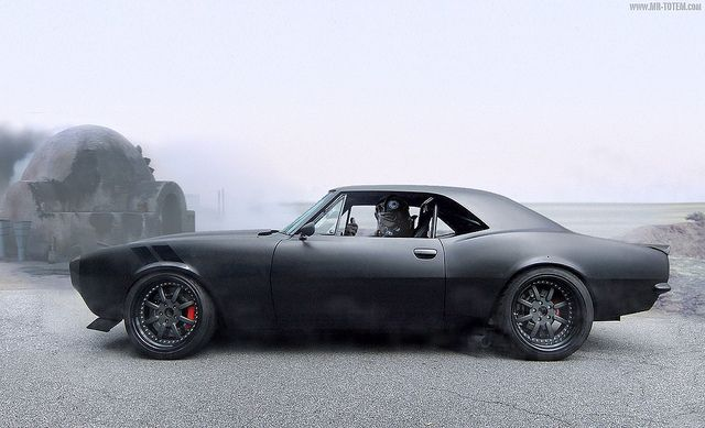 67 Camaro... I would slay a whole bus of nuns for this: Camaro Streetfight, 1967 Camaro, Classic Cars, Chevrolet Camaro, Muscle Cars, Riding, Future Cars, Matte Black, Dreams Cars