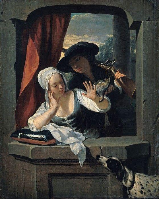 Nicolaas Verkolje (1673-1746) - The refused prey