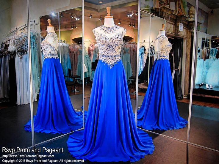 Captivate the crowed in this royal blue prom dress! It's at Rsvp Prom and Pageant, your source for the HOTTEST Prom and Pageant Dresses!