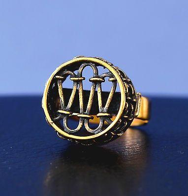 "Pentti Sarpaneva for Turun Hopea, Vintage, ""Pitsi"" (Lace) bronze round ring, 1970's. | eBay #Finland"