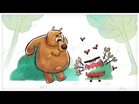 """▶ """"Grumpy as a Grizzly Bear,"""" Songs about Emotions by StoryBots - YouTube"""
