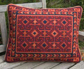 Design of the Month at 20% Off Retail March/April 2017 BALOUCH – A fun, fast and easy pattern to stitch! The Special Design of the Month Offer for the next two months is a wonderful Kilim pat…