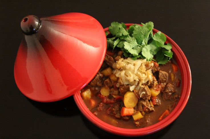 Beef Tagine with Caramelized Onions (25)