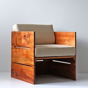 Reclaimed Timber Crate Chair