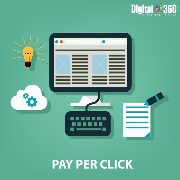 By #PPC the businesses can reach their target consumer at the right time with the right ad. Consult experts at #Digital360 for effective #Digital Branding through PPC, call at + 919278849499 or visit our official website www.digital360.co