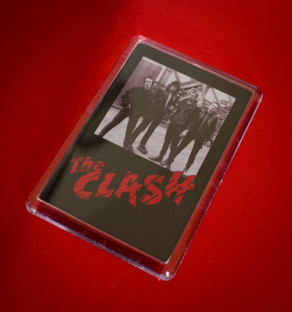 Cool The Clash Fridge Magnet by WeeHings on Etsy