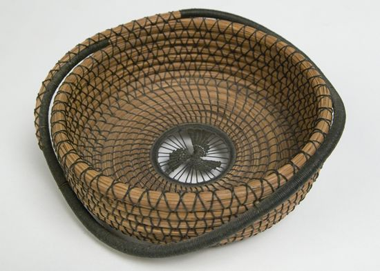 Indian Basket Weaving Kits : Best images about pine needle baskets on