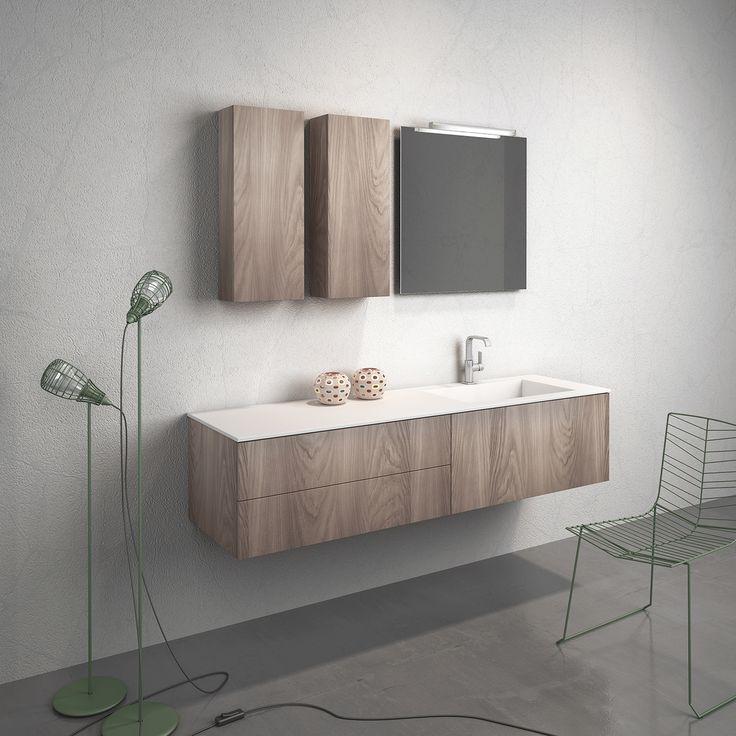 Bathroom furniture_Ysomite surface by Cleaf