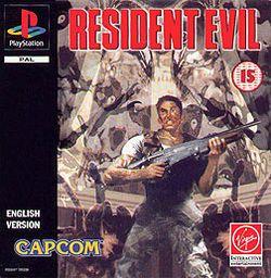 La portada del Resident Evil primero para PSone...SUBLIME