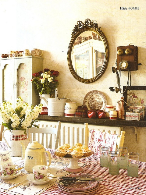 Old Fashioned Charm Dining Rooms Pinterest