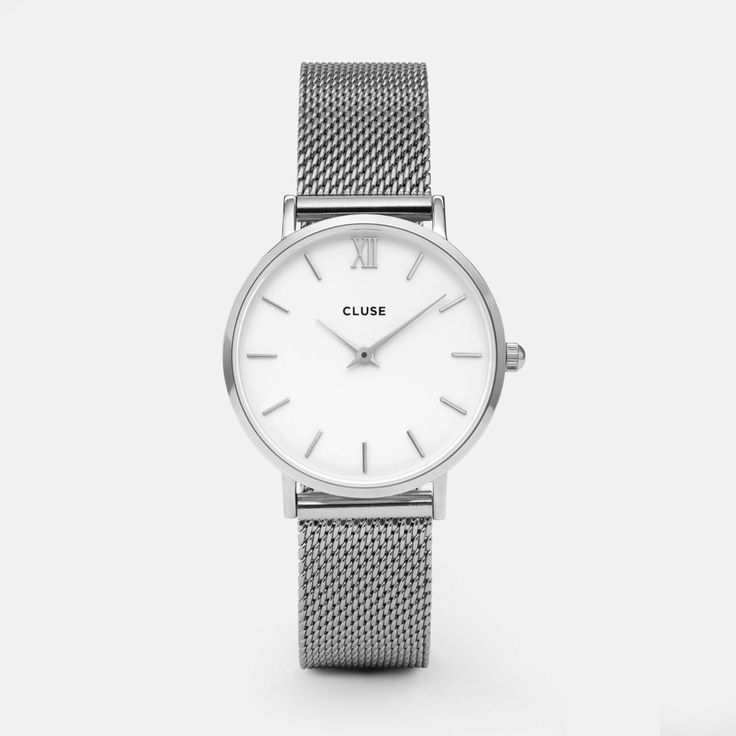 Minuit Mesh Silver/White