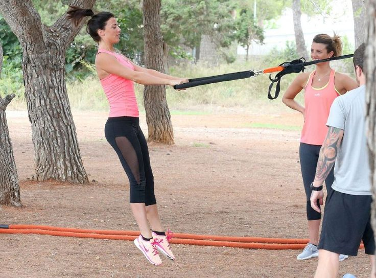 Lucy Mecklenburgh – Tights, Working Out in Ibiza : Global Celebrtities (F) FunFunky.com