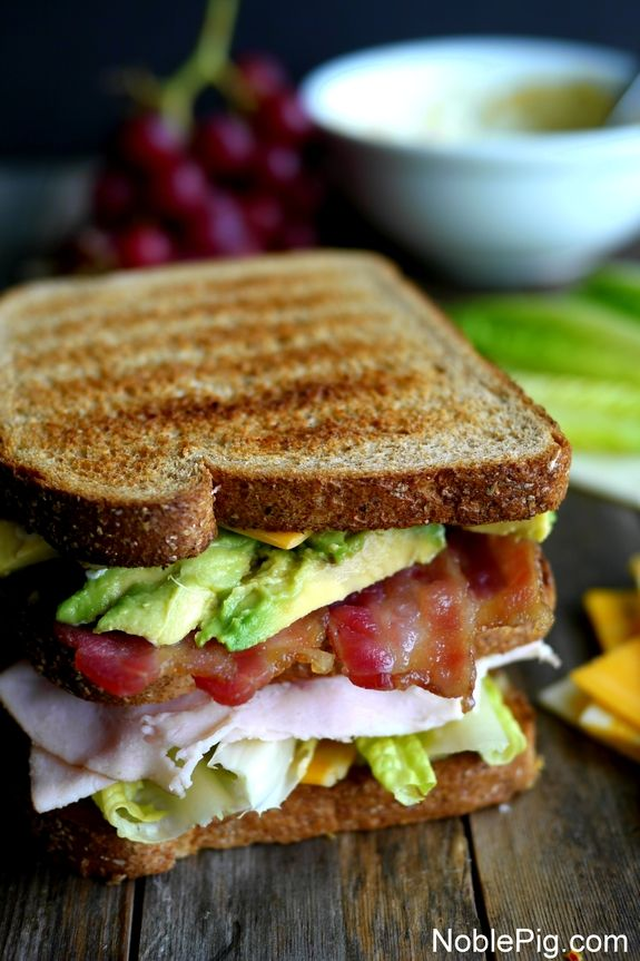 Ultimate Manly Picnic Sandwich from NoblePig.com