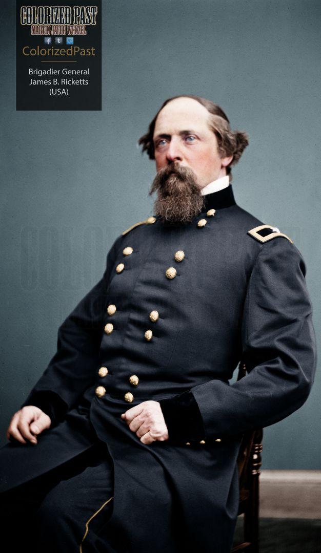Union General James Brewerton Ricketts #rickettsfamily #civilwar