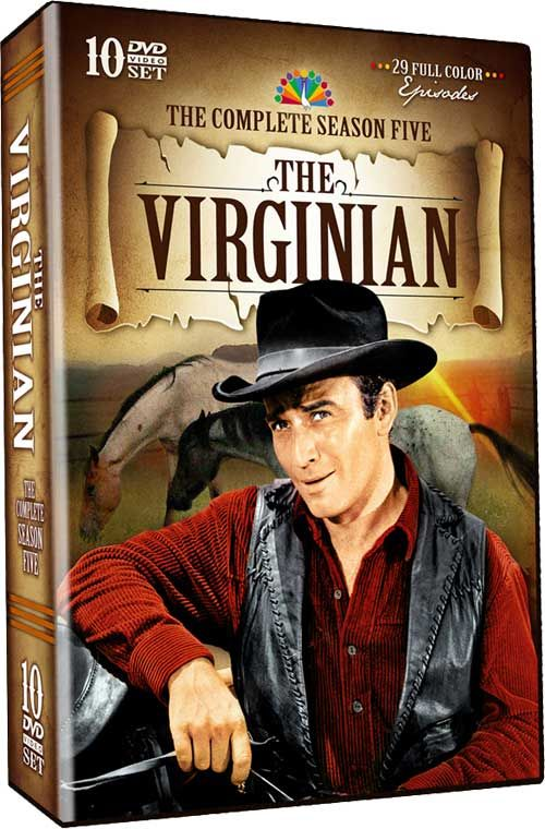 Vyrginian | The Virginian - Details and Packaging for ' Season 5 ' and for ' The ...