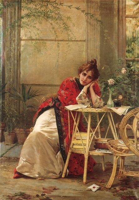 "Ignace Spiridon (act. 1884-1900), ""So far from home"""