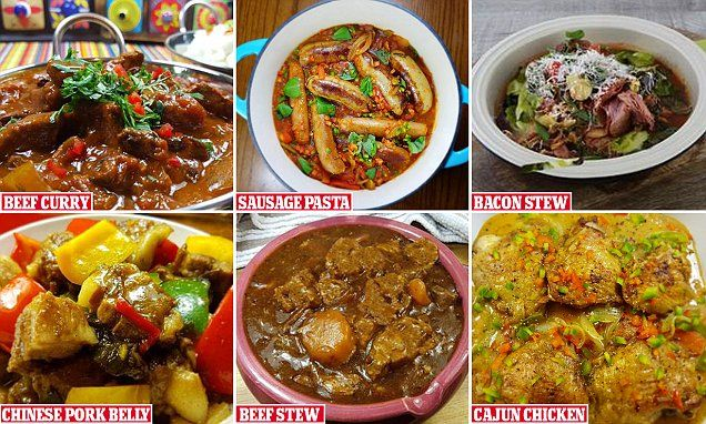 Chef Liam Boland from County Offaly in Ireland has revealed how to meal prep seven family dinners in just one hour, at a cost of only £1 per person for each portion, including beef curry and pork ribs.