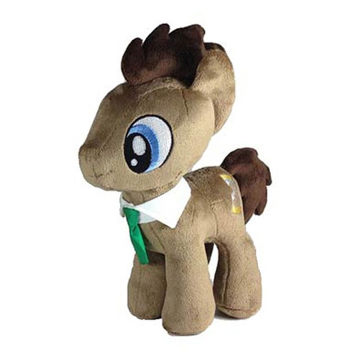 4th Dimension 10.5-inch My Little Pony Dr. Hooves Basic Eyes Plush Toy