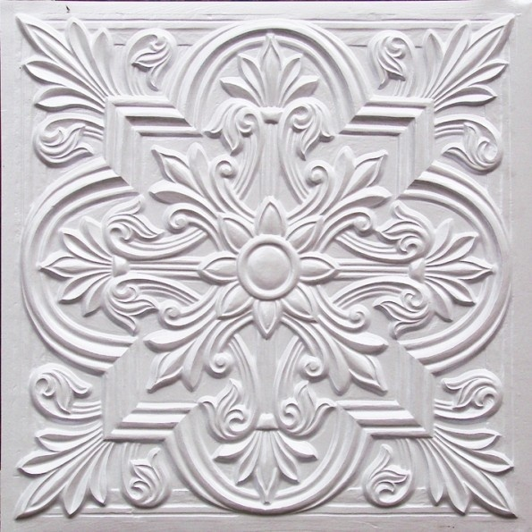 Ceiling tiles, backsplash or photo drop  # 302 white pearl for $9.99  www.ceilingtilesbyus.com