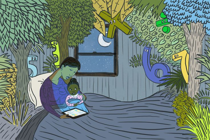 Where The  Wild Fractions Are: The Power of a Bedtime (Math) Story!