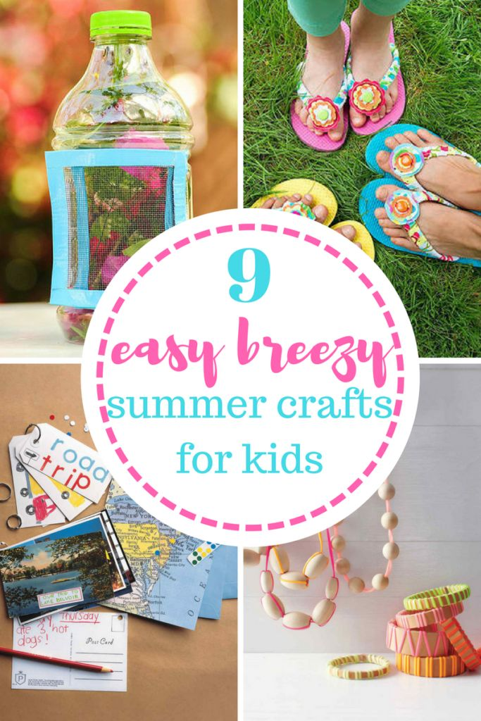 Fun DIY and craft projects for kids!
